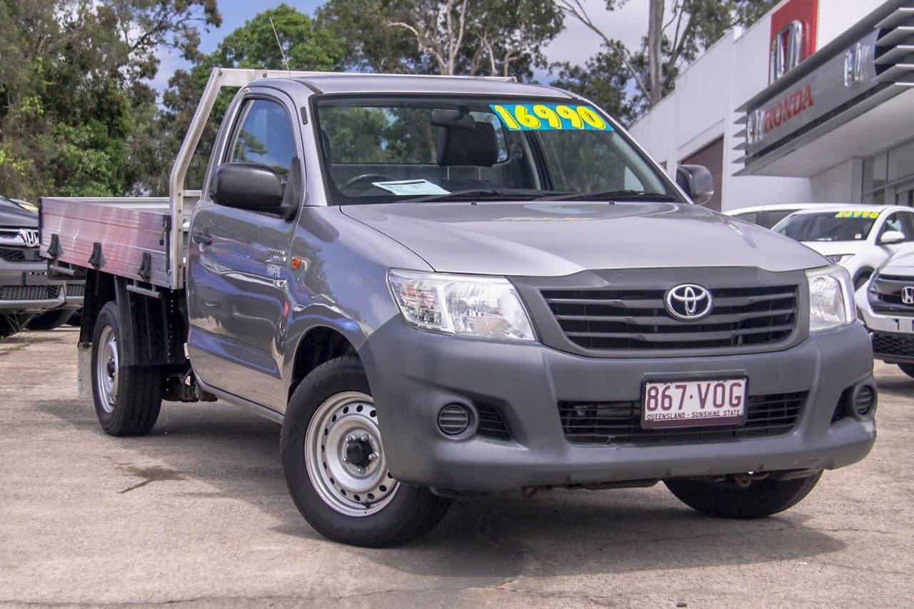 2014 Toyota Hilux TGN16R WORKMATE